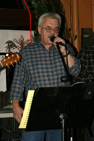 Mark Burns - Backup Vocals & Percussion